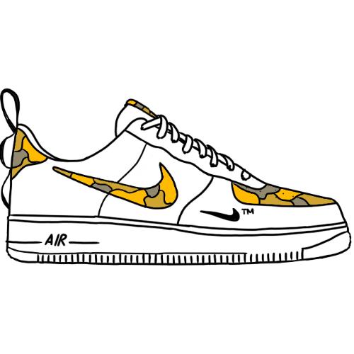 air force 1 disegni